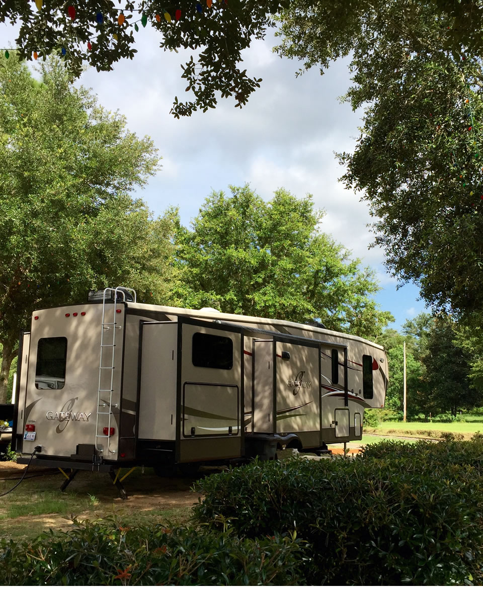 Peaceful RV living